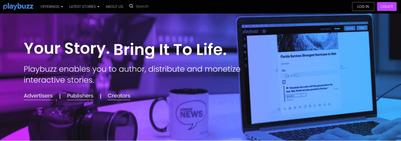 Playbuzz Website